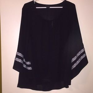 New Directions Bell Sleeve Top